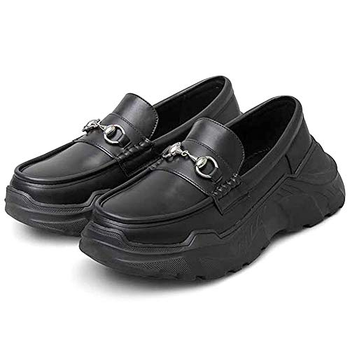 glabella グラベラ ローファー スニーカー ソール メンズ 靴 くつ glbt-201-M-BK サイズ:M(26.0cm-26.5cm) ブラック ※返品・交換不可