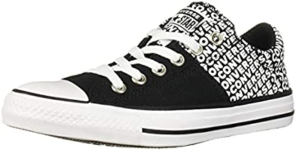 Converse Women's Chuck Taylor All Star Madison Wordmark 2.0 Sneaker, Black/White/Black, 8 M US
