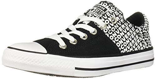 Converse Women#039s Chuck Taylor All Star Madison Wordmark 20 Sneaker Black/White/Black 7 M US