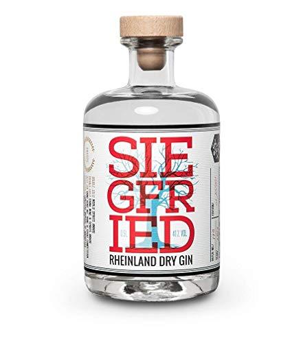 Siegfried Rheinland Dry Gin IWeltweit ausgezeichneter Premium Gin I Micro-batch Gin mit 18 Botanicals I Regionalität und Weltklasse I 41% 500ML