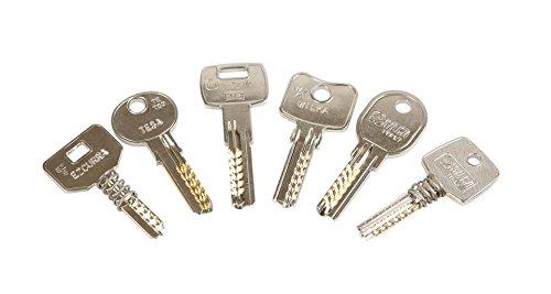 Kit de llaves bumping Bump-Keys para cerraduras de seguridad, multipuntos, planas, blindadas, Garantizadas Fabricante GanzuasBumping (Kit Nº1-16 llaves)