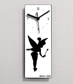 Conte de fée Clochette - Horloge murale