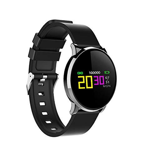 PRIXTON AT802 - Pulsera de Actividad con Pulsómetro, Pantalla a Color, Bluetooth 4.0, Modo Multideporte, Monitor del Sueño