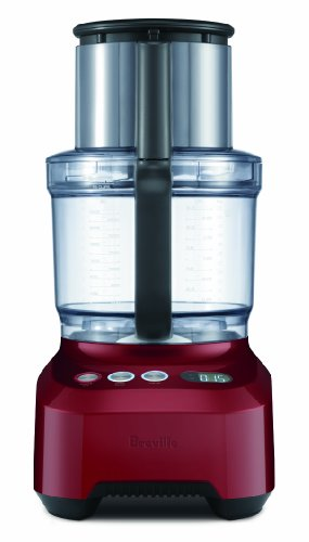 Breville BFP800CBXL Food Processor, Cranberry Red
