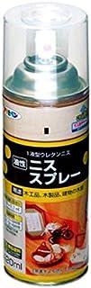 アサヒペン ニススプレー 420ML マホガニー 【まとめ買い3缶セット】