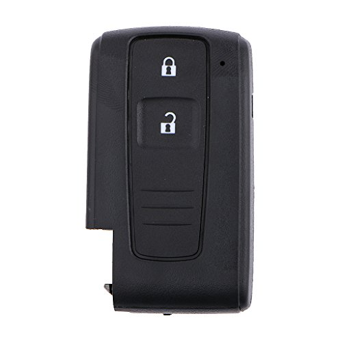 2 Boutons Télécommande Intelligente Clé Remplacement Coque Case Shell Pour Toyota Prius