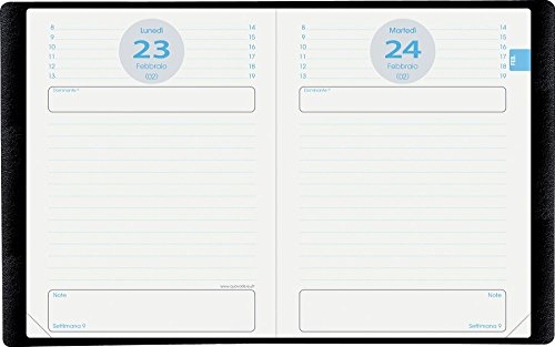 QUO VADIS 029565Q DIARIO SCOLASTICO Anno 2020-2021 TEXTAGENDA carta Riciclata lingua italiana ricambio agenda 12x17 Giornaliera 13 MESI AGOSTO-AGOSTO