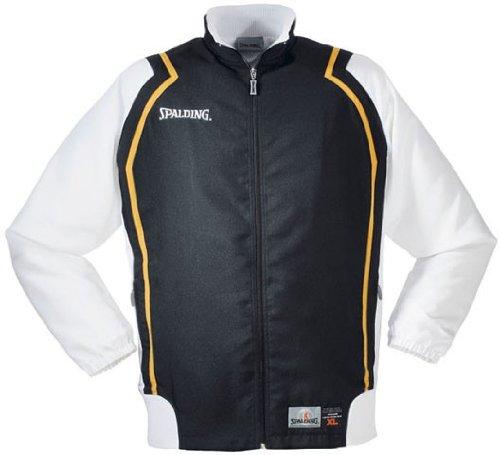 Spalding Crunchtime Jacket Chaqueta De Chandal, Hombre, Negro, M