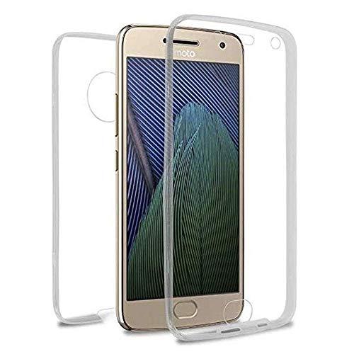 iGlobalmarket Custodia per Motorola Moto G5 Plus - Cover completa [360] in silicone per cellulare - (anteriore + posteriore)