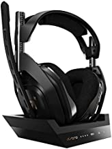 ASTRO Gaming A50 Wireless Headset + Base Station Gen 4 - Compatible with Xbox Series X|S, Xbox One, PC, Mac - Black/Gold