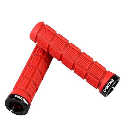 Ahomi 1 paar mountainbike-stuurpen antislip rubberen gripafdekking fietshulzen