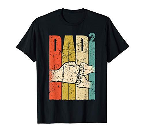 Hombre Padre gemelo Papá de gemelos Papá 2021 Camiseta