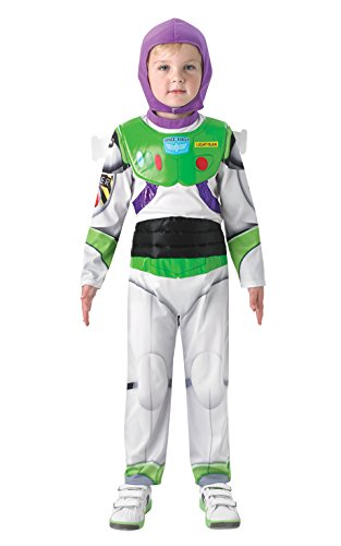 TOY STORY (DISNEY PIXAR) New Deluxe Buzz Lightyear - Kids Costume 7 - 8 years , color/modelo surtido