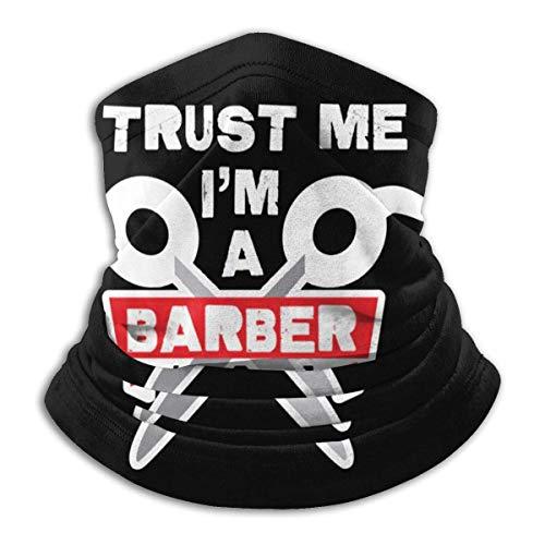 Trust Me I Am A Barber1 Pañuelo de pasamontañas Multifuncional