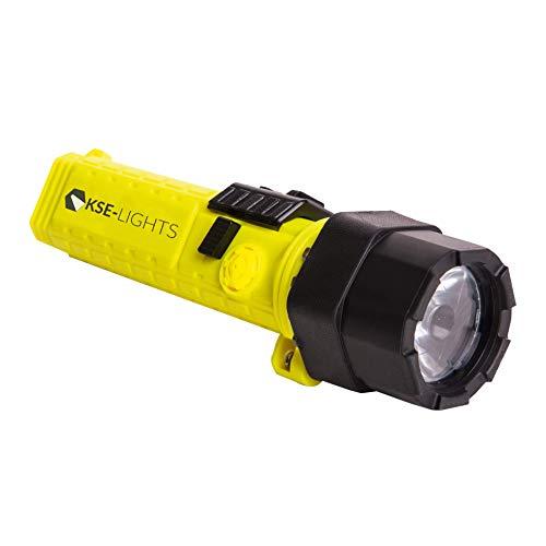 KSE-LIGHTS GmbH -8810 - Linterna led de mano con certificación ATEX 1G, color amarillo ⭐