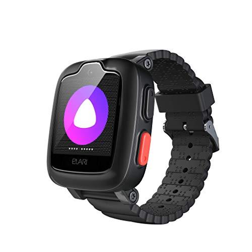 Elari 3G Reloj Inteligente Niño y Niña GPS Localizador y Llamadas Bidireccionales Audio y Video, Chat de Voz, Botón SOS, Impermeable, Cámara, MP3 Musica, Juegos KidPhone 3G (Negro)