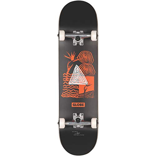Globe G1 Fairweather 8.125 compleet skateboard black / red