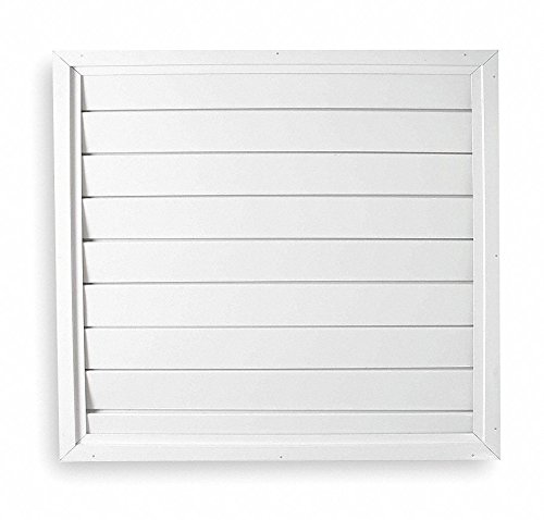 Dayton 30' Whole House Fan Economy Ceiling Shutter/Ceiling Shutter, 30' x 30' Opening Required