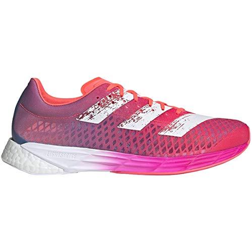 adidas Adizero Pro Shoe - Men's Running Signal Pink/Cloud White/Shock Pink