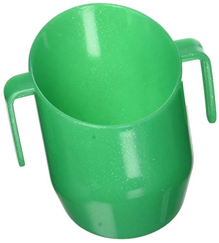 gr/ün mit Glitzereffekt Doidy Cup Trinklernbecher