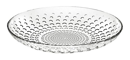 RCR Galaxie Assiette Creuse, Verre, Transparent, 21 x 21 x 10 cm