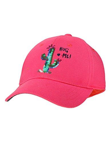 maximo Baby-Mädchen Cap Kaktus Kappe, Rosa (Pink Rose/Navy 6448), 49/51