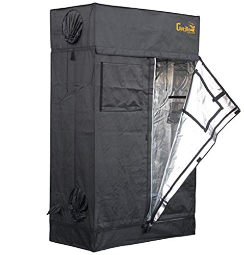 Gorilla Grow Tent Lite Line | Complete 2-Foot by 4-Foot Reflective Hydroponic Grow Tent for Growing...