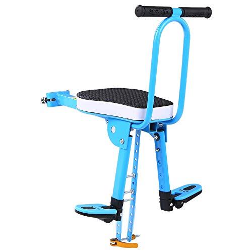 ZYZYP Sillines de bicicleta para niños Sillín de bicicleta de montaje delantero de seguridad para niños Asiento delantero Sillín portador de bicicletas nuevo (color: 2)
