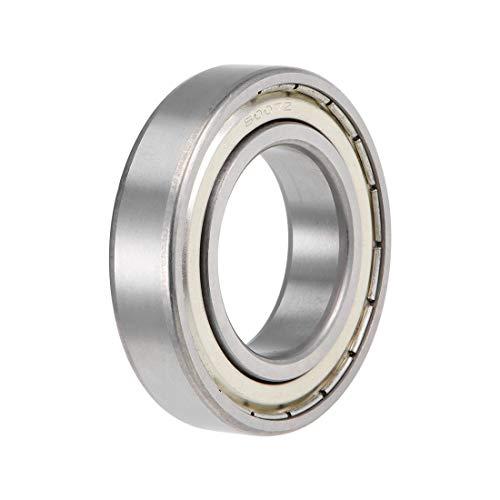uxcell 6007ZZ Deep Groove Ball Bearings Z2 35mm X 62mm X 14mm Double Shielded Carbon Steel