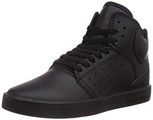 Supra Atom, Jungen High-Top Sneaker, Schwarz (BLACK - BLACK     RCS), 32