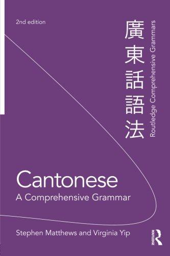 Cantonese: A Comprehensive Grammar (Routledge Comprehensive Grammars)