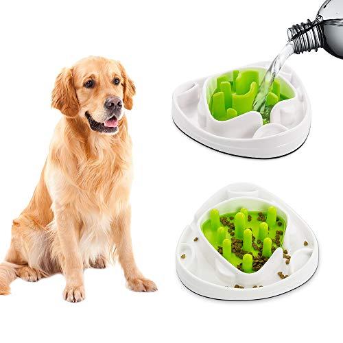 Ciotola per cani interattiva con 2 labirinti intercambiabili