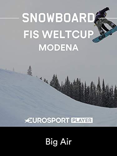 Snowboard: FIS Weltcup 2018/19 in Modena (ITA) - Big Air
