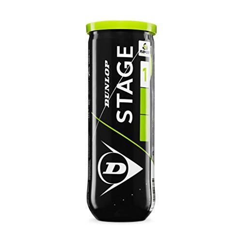 Dunlop CLUB ALLCOURT Tennisball Gelb 1size