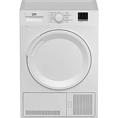 Beko DTLCE80051W Freestanding 8kg Condenser Tumble Dryer - White