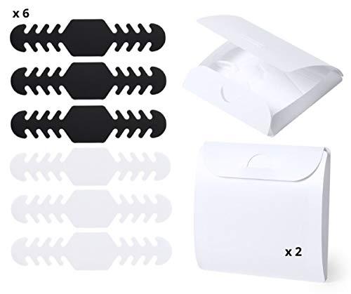 Pack 8 unidades. 6 Salva Orejas de 16.5cm y 2 Porta Mascaras XL. Hecho en España