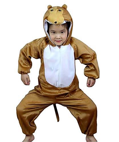 Aap kostuum - 2/3 jaar - vermomming - carnaval - halloween - meisje - jongen - unisex - maat s - cadeau-idee voor kerstmis en verjaardag cosplay