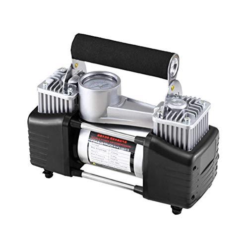 Compresor Aire Coche Hinchador Electrico Herramienta de aire Inflador de neumáticos Inflador de neumáticos con manómetro