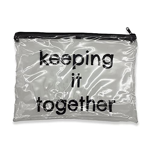 Travel Bag – Durable Zip Closure – Clear PVC Travel Bag – Portable & Lightweight – Perfect Storage Solution – Ideal Travel Organise