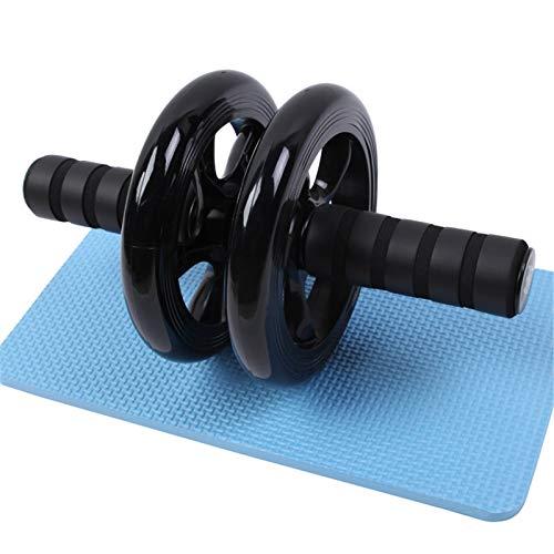 Traineradores básicos y abdominales Ab Roller Ejercicio Rodillo Rodillo Abdominal Ejercicio abdominal para el hogar Fuerza Gimnasio Fitness Entrenamiento Entrenamiento-Equipo de Equipo AB Herramienta