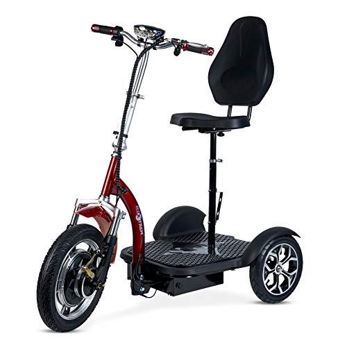 ECOXTREM Triciclo eléctrico para Movilidad Reducida con sillín Regulable. Cómodo y Seguro.