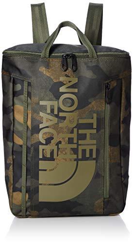 [ザノースフェイス] トートバッグ BC Fuse Box Tote BCヒューズボックストート NM81956 バーントオリーブワックスカモプリント