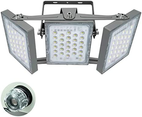 STASUN 13500LM Dusk to Dawn Security Lights 150W LED Flood Light Outdoor with Photocell 5000K product image
