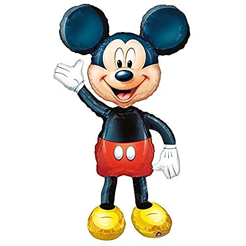 Anagram - BA22034 - Ballon Gonflable Mickey Mouse Air Walkerss 96 cm h 132 cm