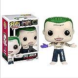 Figura De Vinilo Pop Anime Suicide Squad Harley Quinn Joker Figuras De Acción Figura En Caja Modelo Juguetes Regalos para Niños 10Cm