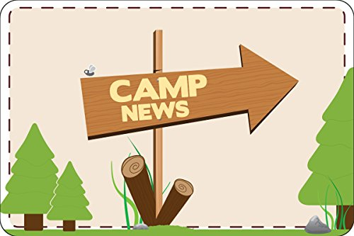 """This Way To Camp Postcards   Kid Postcards   Camp Stationery   6"""" X 4"""" Postcards for Kids"""