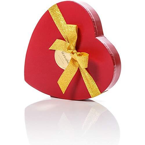 Venchi Romantica Scatola Cuore con Cioccolatini Misti 140g - Idea Regalo - Senza GlutineScatola Cuore con Cioccolatini misti, 140 gr