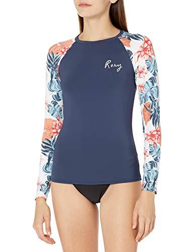 Roxy - Bade- & Surfbekleidung für Damen in Helles Weißes Standardmuster, Größe XL