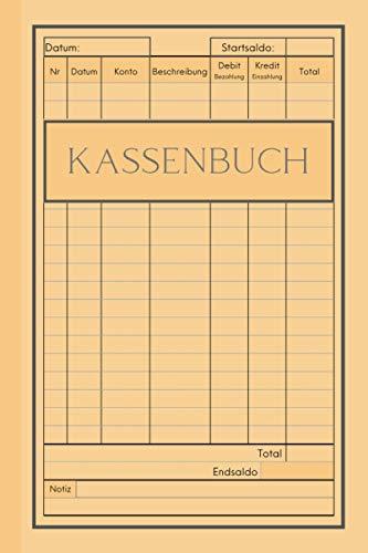Kassenbuch: Buchhaltungs buch. 200 Seiten Kassenbuch. Transaktions- und Bilanzbuch für kleine Unternehmen und den privaten gebrauch.