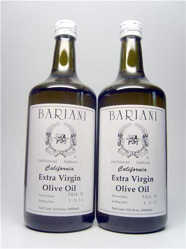 Bariani California Extra Virgin Olive Oil - 2X 1 Liter